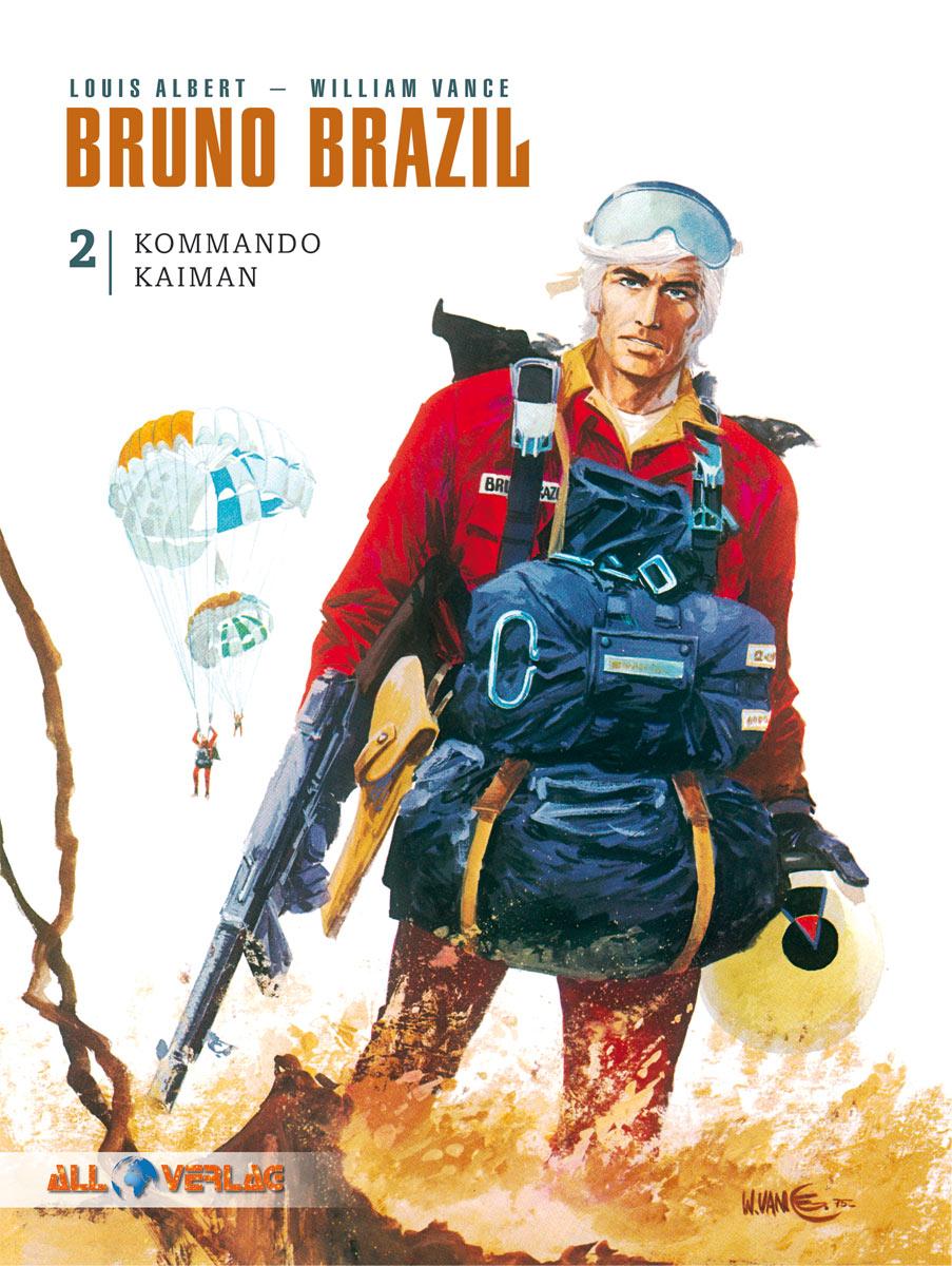 Klassiker ReRead: Bruno Brazil rettet die Welt mit KommandoKaiman